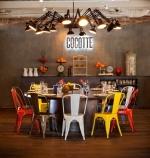Bàn ghế Tolix - nội thất đẹp cho quán cafe