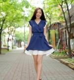 Áo đầm dạo phố giá rẻ