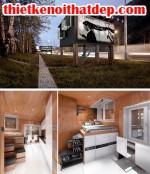 [Mẫu thiết kế nội thất đẹp] Những ngôi nhà siêu nhỏ nhưng đầy đủ tiện nghi