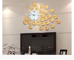 Cách chọn đồng hồ treo tường trang trí phòng khách đẹp