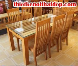 [Cách chọn nội thất] Cách chọn mua bàn ăn bằng gỗ cho nhà bếp