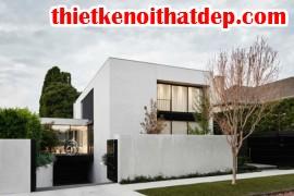 [Mẫu thiết kế nội thất đẹp] Nhà tuyệt đẹp giữa vườn cây