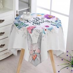 Mua khăn trải bàn tròn thiết kế đẹp, tinh tế, chất lượng cao, giao hàng toàn quốc