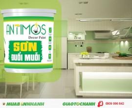 Sơn nhà bếp đẹp trừ được gián, kiến với sơn Antimos