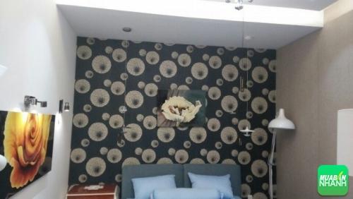 Trang trí nhà đẹp đơn giản, sáng tạo bằng giấy dán tường