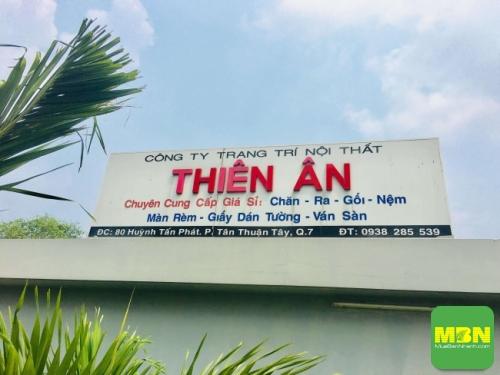 Công ty Trang Trí Nội Thất Thiên Ân - xưởng gia công chăn drap gối nệm TPHCM