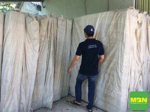 Công ty Trang Trí Nội Thất Thiên Ân giao chăn drap gối nệm cho khách hàng tại Đà Lạt