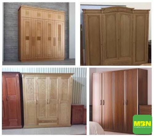 Tư vấn chọn mẫu tủ quần áo gỗ tự nhiên 4 cánh đẹp, 202, Mãnh Nhi , Thiết Kế Nội Thất Đẹp, 25/09/2018 14:18:58