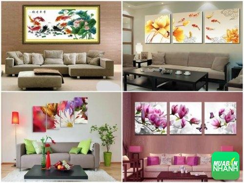 Thiết kế nội thất phòng khách đẹp với tranh treo tường, 160, Phương Thảo, Thiết Kế Nội Thất Đẹp, 29/06/2017 11:13:11