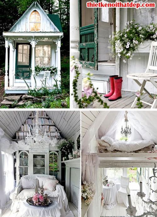 nhà nhỏ độc đáo