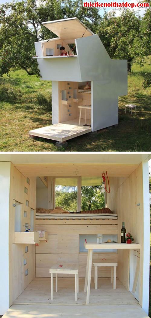 nhà nhỏ đơn giản